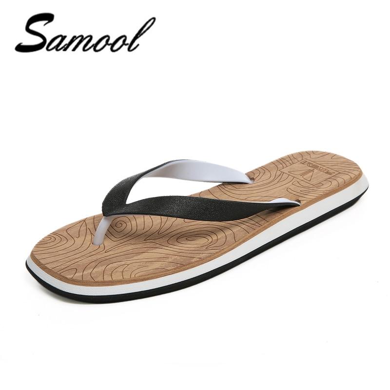 Men home Sandals New Brand Flip Flops non-slip Men Beach Slippers For men Summer Shoes Flat Sandals Men Flip Flops 2018 xxz5