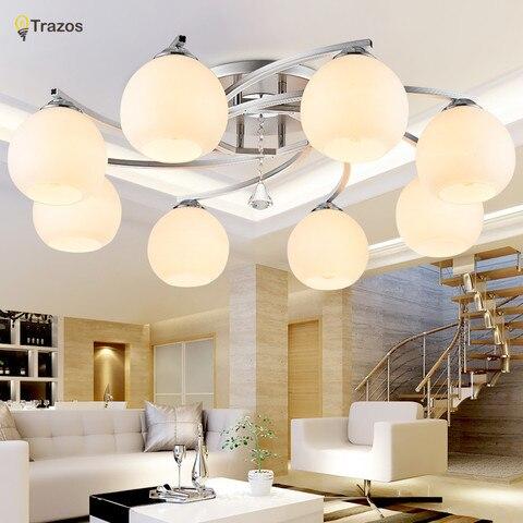 luzes de teto cristal moderno para cozinha sala estar quarto dos miudos lampada do teto