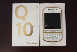 Arrival IN stock  !  Original BlackBerry Q10 4G 3.1'' Dual core,Qwerty,Built-in 16GBROM,8MP free  shipping