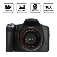 1080P HD 16X ZOOM SLR Digital Cameras Fotografica Appareil Photo Reflex Flash Lamp Recorder