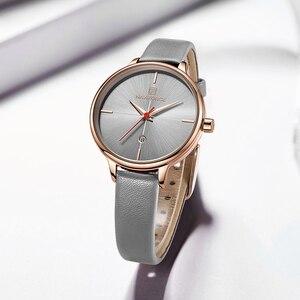 Image 3 - NAVIFORCE reloj de cuarzo para mujer, con caja, a la venta, sencillo, reloj de pulsera de regalo