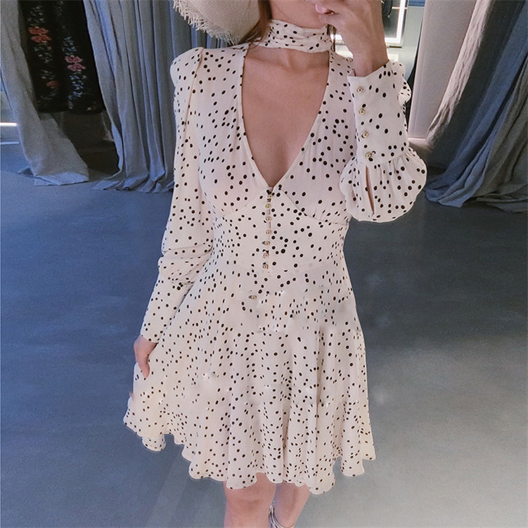 Oftbuy 2019 Summer Striped Shirt Dress Elegant Ruffle Embroidery Lace Patchwork Long Sleeve Sexy Mini Dress Women Vintage Dress Fixing Prices According To Quality Of Products Women's Clothing