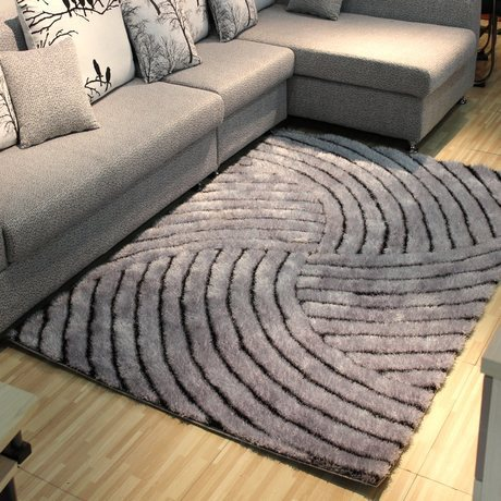 customize modern living room 3d silk rugs and carpets home decor