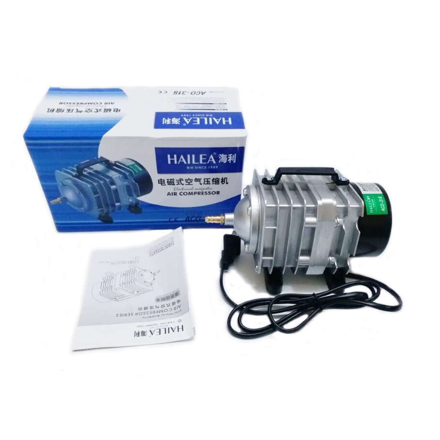 New 70l min 45w hailea aco 318 electromagnetic air for Air pump for fish tank