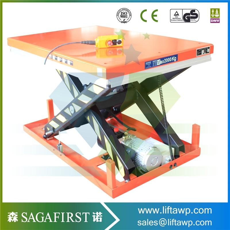 Mini Electric Scissor Lift Table For Car Lift Maintenance