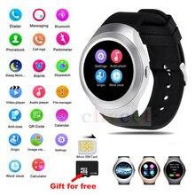 L6S Bluetooth 4,0 MTK6261A Smartwatch armbanduhren Unterstützung Sim-karte Pedometerfor remote-kamera für Android IOS uhr männer frauen