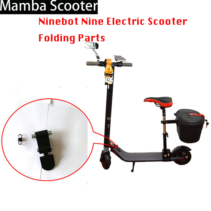Ninebot Nine Electric Scooter Folding Parts Repair Folding Step Pedals Clasp Buckle Accessories Skateboard Replacement Kit PartsNinebot Nine Electric Scooter Folding Parts Repair Folding Step Pedals Clasp Buckle Accessories Skateboard Replacement Kit Parts