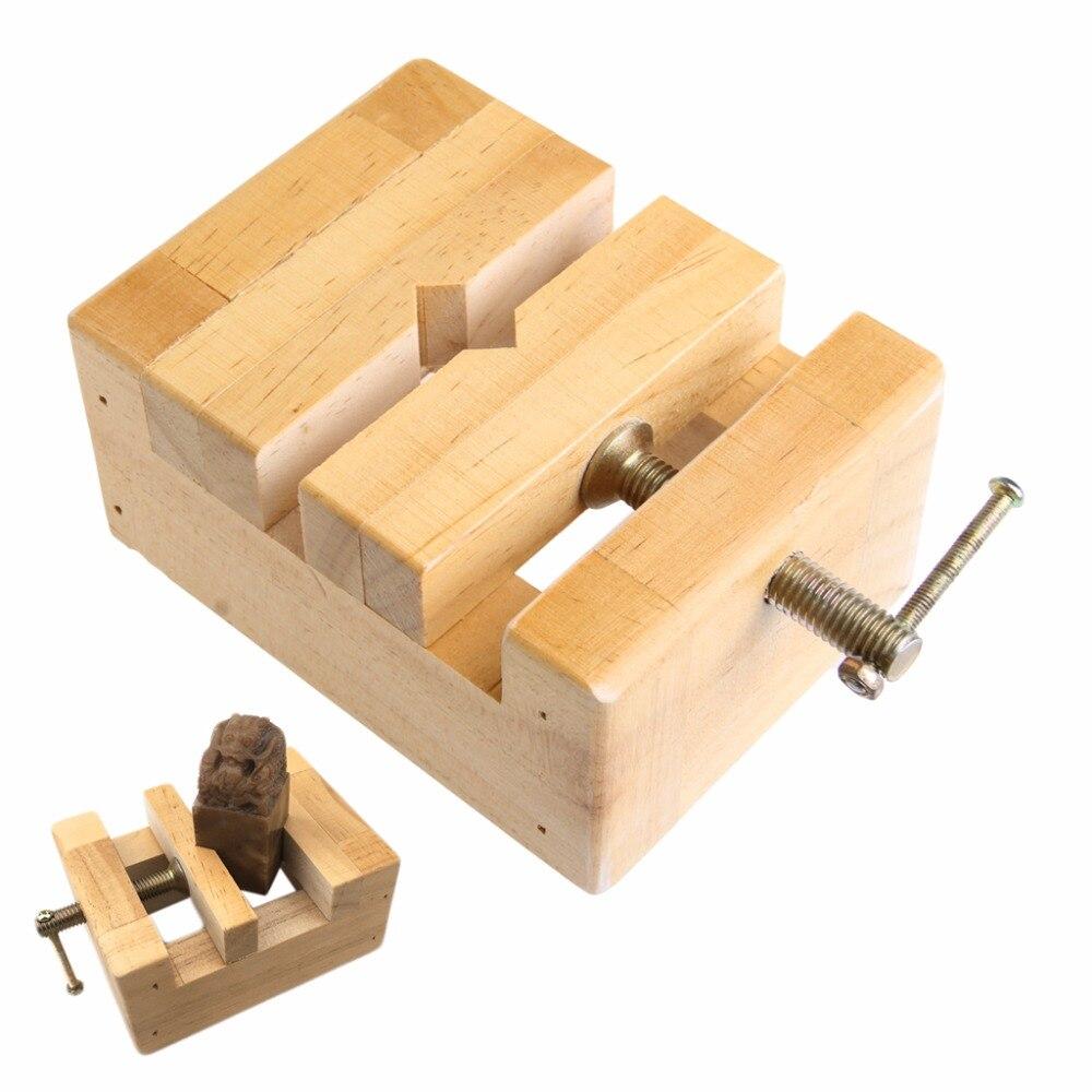 Китайская традиционная печать камень кровать тяга sculptute деревянный исправить форму Инструменты-Y103