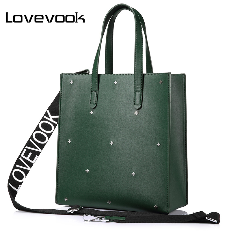 LOVEVOOK women handbags high quality PU female shoulder messenger bags tote large capacity famous brands luxury designer Black vintage women bag high quality crossbody bags luxury designer large messenger bags famous brands female shoulder bag tassen flap