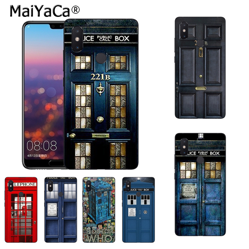 Cellphones & Telecommunications Half-wrapped Case Honesty Maiyaca Doctor Who Phone Booth Police Box 221b Door Phone Case Cover For Xiaomi Mi 8 Se 6 Note2 Note3 Redmi 5 Plus Note4 5 Cover
