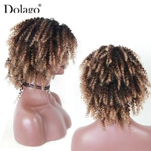 Image 3 - Perruque Bob Lace Closure Wig naturelle Remy Dolago