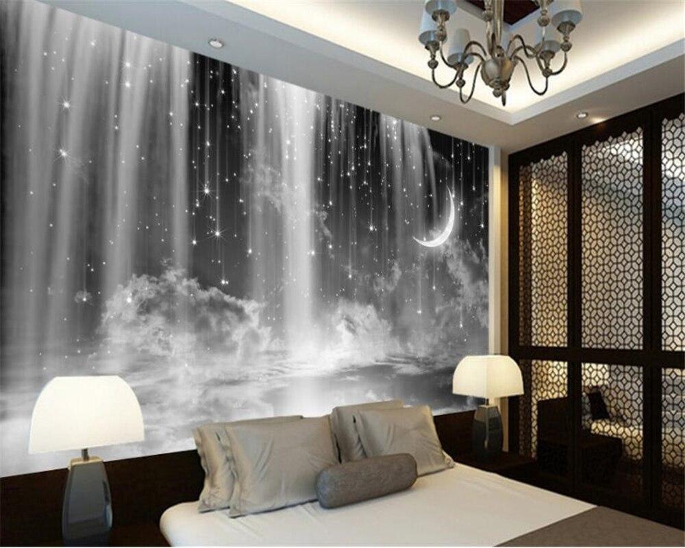 Beibehang Personalizado Cachoeira Papel De Parede Sala De Estar  -> Mural Parede Sala