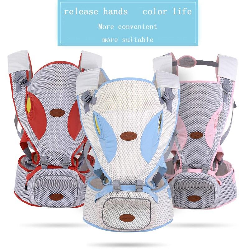 Porte-bébé multifonctionnel bébé face avant Hipseat Wrap nouveau-né bébé fronde Portable pour voyage 0-36 mois