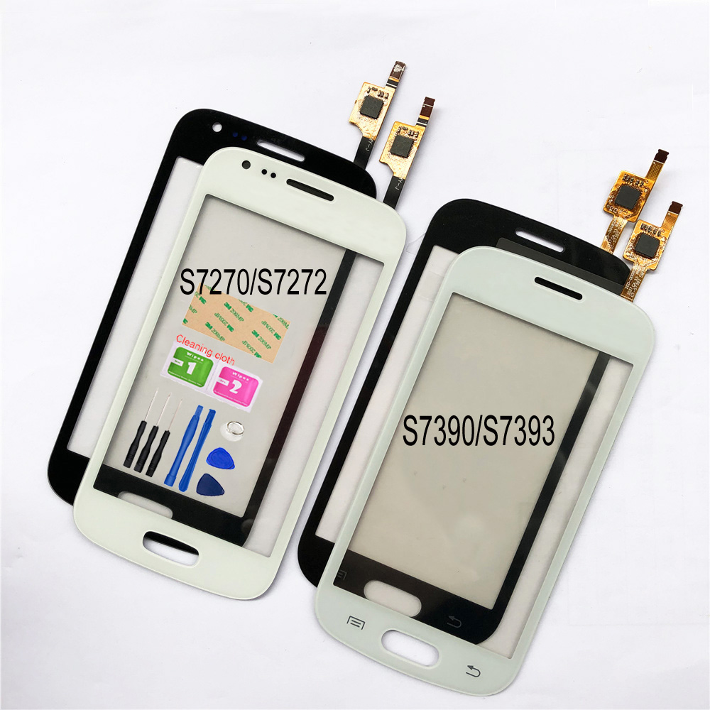 For Samsung Galaxy Ace 3 S7270 S7272 Touch Screen For Samsung Galaxy Trend Lite S7390 S7392 Digitizer Touch Panel Lens Sensor