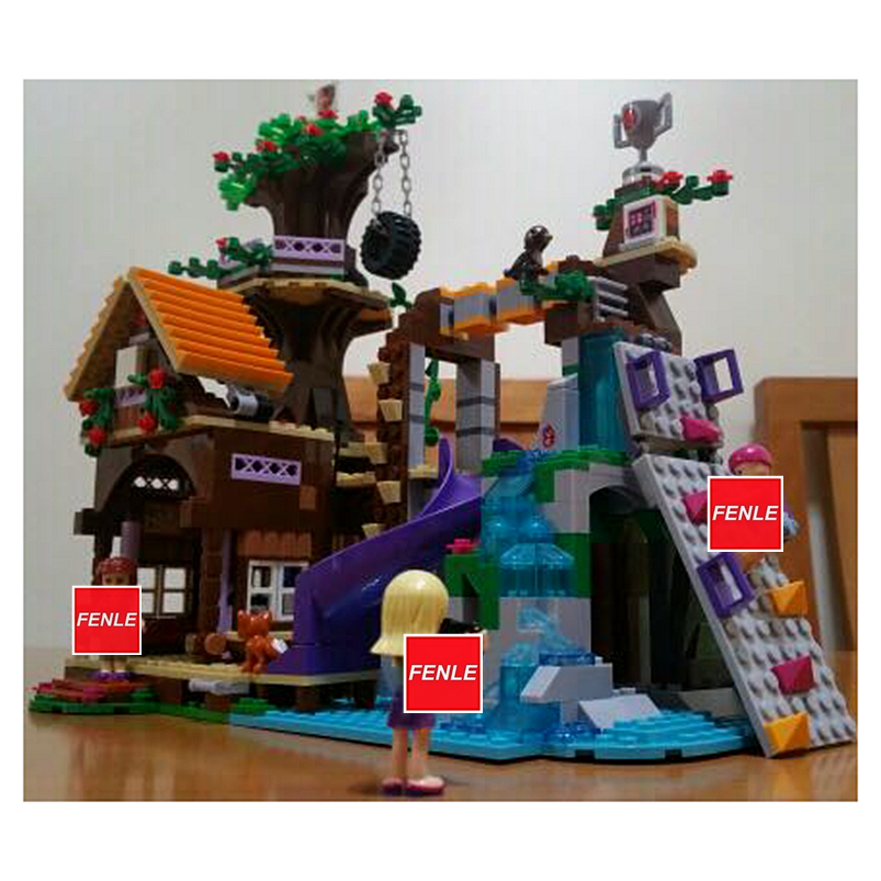Alert 739pcs Adventure Camp Tree House Compatible Legoings Friends City Girl Diy Figures Bricks Educational Toys For Children Gifts Buy One Give One Blocks Toys & Hobbies