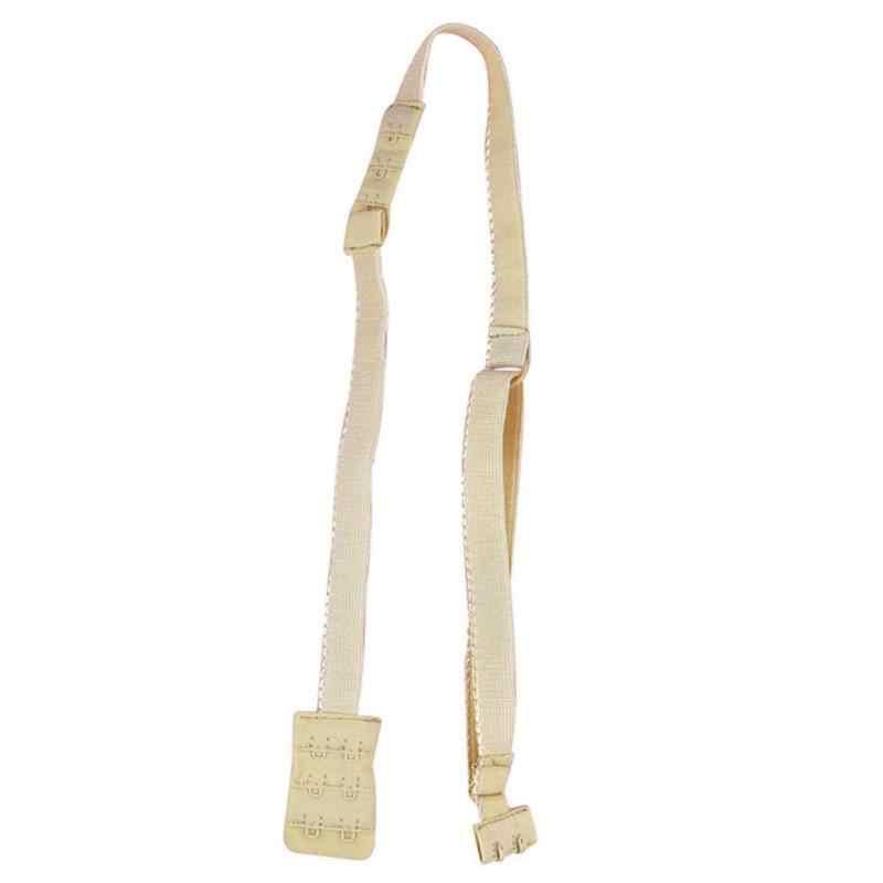 1 pieza convertidor de correas de sujetador de espalda baja, cinturón de sujetador de moda Sexy para vestidos de espalda baja sin espalda completamente extensiones ajustables para sujetador gancho