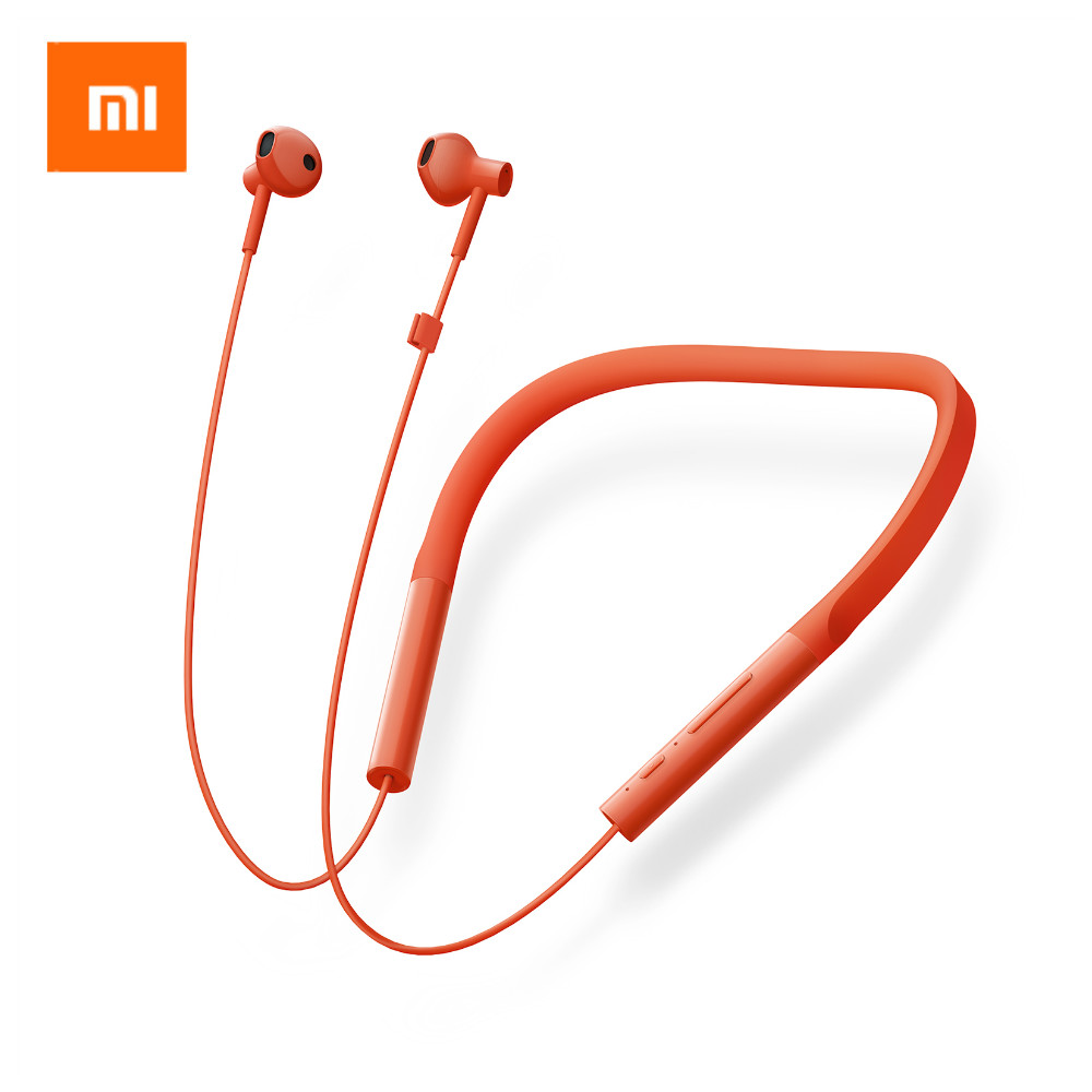 New Original Xiaomi Mi Neckband Youth Sports Bluetooth Earphone Wireless Dynamic Stereo Music Headset With Microphone For iPhone