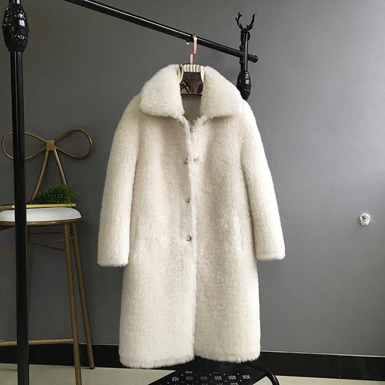 100 Manteaux Épaississement Pardessus Col 1 Blanc Laine D'hiver 3 Automne Movau0019 Baissez Femme Femmes Vestes 2018 2 qr4Hwvq5