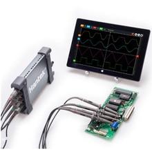 6204BC Hantek PC USB Osciloscópio com 4 independente canais analógicos 200 MHz 1GSa/s registro de forma de onda e replay