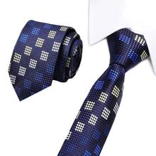Vangise  Mens Ties Luxury Man Floral Skinny Neckties Hombre 8cm Gravata Slim Tie Classic Business Casual Paisley For Men