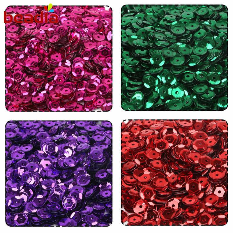 New Thời Trang Đầy Màu Sắc 20 gam/lô (khoảng 1200 cái) 6 mét Flake Cầu Vồng PVC Cup Sequin Cho Home & Trang Trí đám cưới Confetti