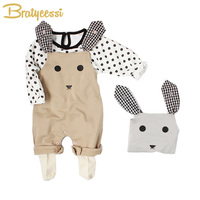 2018 Cotton Baby Romper Cartoon Sleeveless Baby Jumpsuit Unisex Overalls Kids Spring Autumn Rompers For Boys