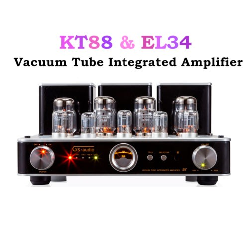 EL34 R8 Vacuum Tube Integrated Amplifier Stereo HiFi 2.0 Headphone Power Amp music hall latest hi end kt88 el34 vacuum tube integrated amplifier stereo hifi 2 0 headphone power amp