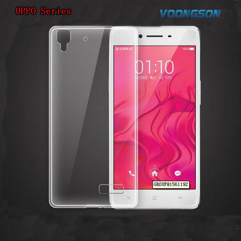 VOONGSON Transparent Back TPU Phone <font><b>Cases</b></font> For <font><b>OPPO</b></font> R5 R7 R7S R8207 R831 R829 R1 R827 R2017 A31 N3 U3 X9007 <font><b>Find</b></font> <font><b>7</b></font> R3 Find7 Cover image