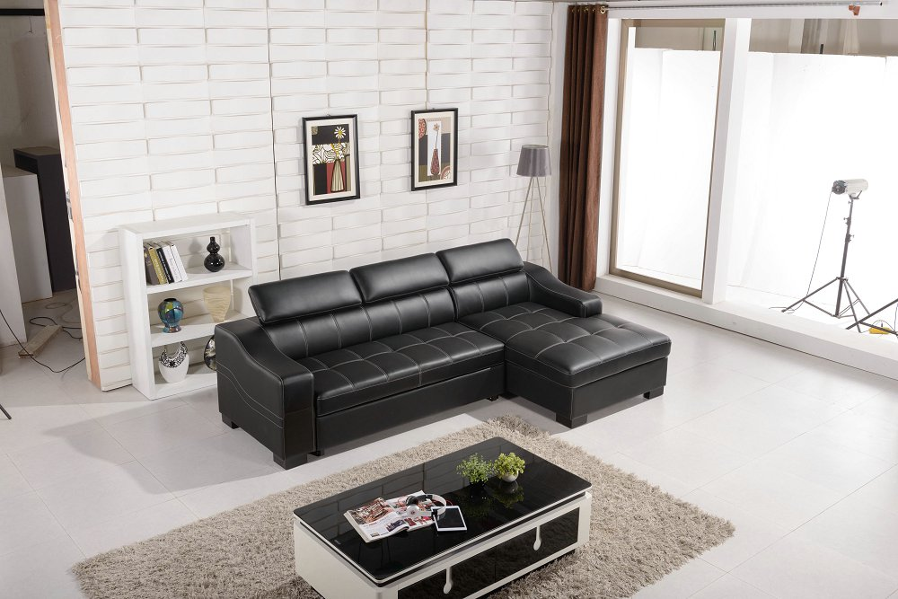 2019 Limited Chaise Top Fashion European Style Set No Genuine Leather Bean Bag Chair Sofas In Home Furniture Modern Sofa Design image