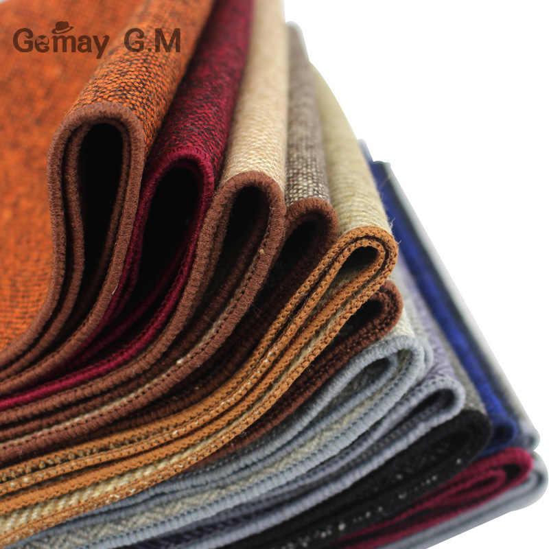 Di alta Qualità Hankerchief Sciarpe Vestito di Affari Fazzoletti di Lana casual Mens Pocket Quadrato Solido Fazzoletti Per La Cerimonia Nuziale 23*23 centimetri