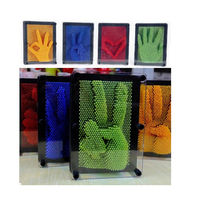 6Color 12cm 3D DIY Antistress Clone Fingerprint Needle Educational Toy Lizune Toy Mucus Hand Mold Novelty