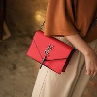 Retro Fashion Female Square Bag 2018 New High quality Matte PU leather Women's Designer Handbag Chain Shoulder Messenger bags