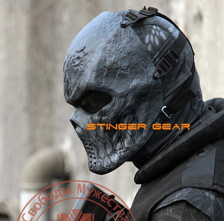 ФОТО Original Chiefs M06 Airsoft Mask In Newest Kryptek Typhon & Highlander Paintball Mask Helmet+Free shipping(SKU12050535)