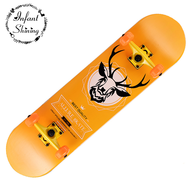 US $85 0 |Scooter Plate Round Double Up Professional Skateboard Adult  Children Scooter Walking Board Beginners Highway Skateboard-in Skate Board  from