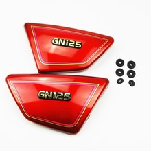 1 пара,, высокое качество, правая и левая рамка, боковые крышки, панели для Suzuki GN 125 GN125, части