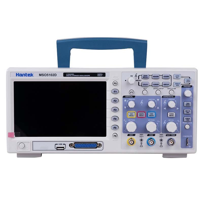 Hantek MSO5102D 2 Channels Digital Oscilloscope 100MHz 1GSa/s 1M Record Length 16 Channels Logic Analyzer 2in1 осциллограф dhl hantek mso5102d 100 1gs s 16 2