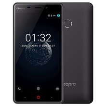 Doopro P1 Pro Fingerprint 5MP MSM8909 Quad Core 1.3GHz Android 6.0 Mobile Phone 2GB RAM 16GB ROM 4G Smartphone 4200mAh Battery