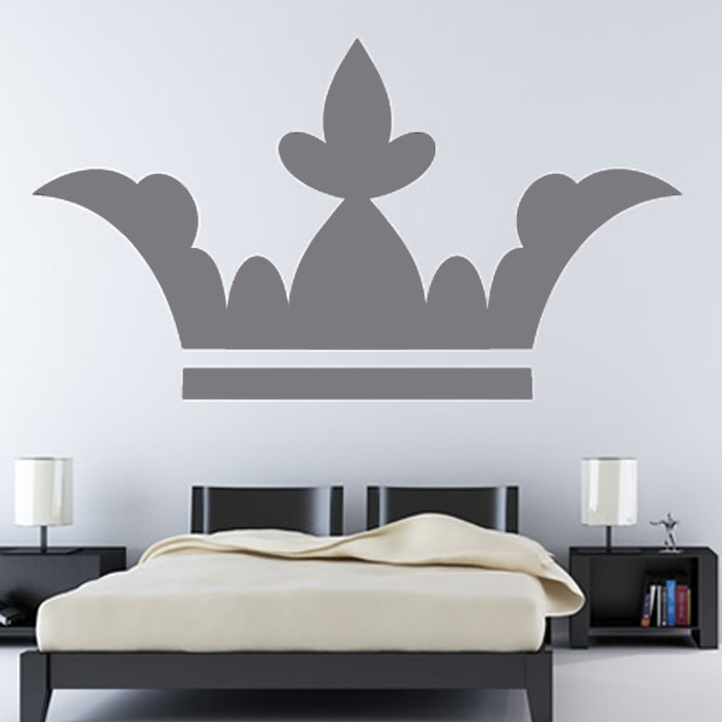 dctop europa venta caliente decoracin de la pared accesorios corona estilo hoja de vinilo removible etiqueta