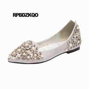 ee682812c RPBDZKQO Ballet Shoes Pointed Toe Women Flats Ballerina