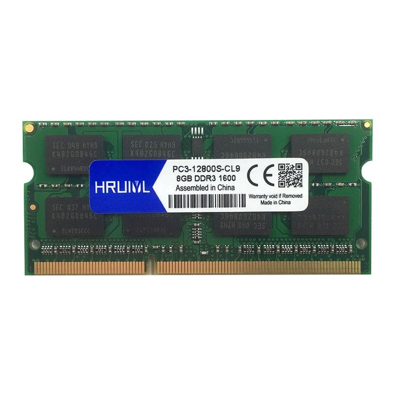 4GB 8GB 16GB DDR3 1066MHz PC3-8500S 204pin SODIMM Laptop Memory notebook lot