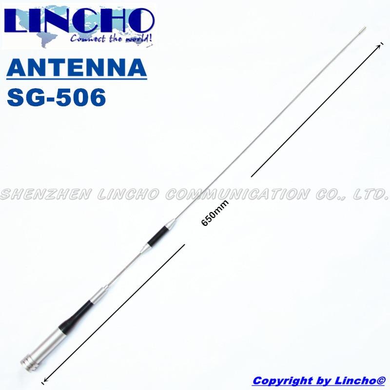 bilder für SG-506 diamant dual band handy-antenne, dual band auto antenne, vhf uhf antenne für zwei-wege-radio