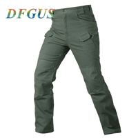 Military Tactical Cargo Pants Men Combat SWAT Army Pants For Men Pockets Stretch Paintball Clothing Casual