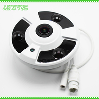 Fisheye 360 Degree POE IP Camera 2MP Camera ONVIF P2P 1080P HD POE IP Camera Indoor