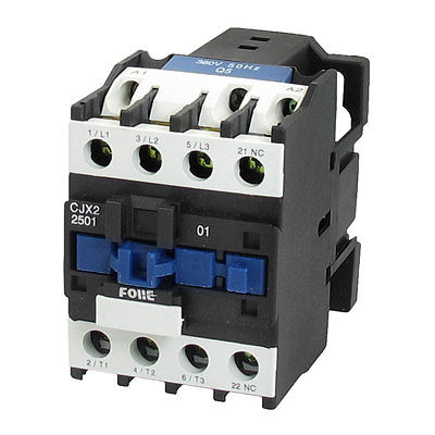 цена на CJX2-2501 LC1 AC Contactor 25A 3 Phase 3-Pole NC Coil Voltage 380V 220V 110V 36V 24V 50/60Hz Din Rail Mount 3P+1NC Normal Close