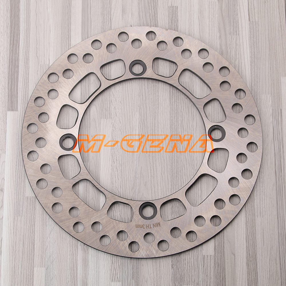 Motorcycle Front Brake Disc Rotor For Suzuki DR200 /E/SE Djebel/SE 42A 1986 2009 DF200 1996 2000 TS125 1985 1990 DR125 1985 2002-in Brake Shoe Sets from Automobiles & Motorcycles    1