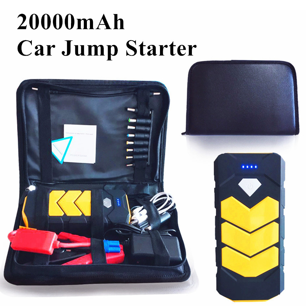2018 Car Jump Starter 12V Portable Starter Power Bank Emergency Starting Device Charger for Car Charger Battery Booster Buster