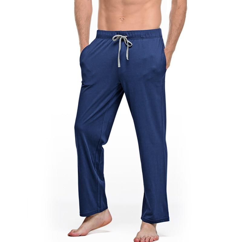 Mens Cotton Pajama Pants Solid Casual Loose Men Sleepwear Bottom New  Arrival Breathable Soft Pyjamas Trousers Home Wear MA50167|Sleep Bottoms| -  AliExpress
