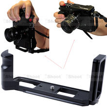 L shaped Vertical Quick Release Plate Camera Holder Bracket Grip for font b Tripod b font