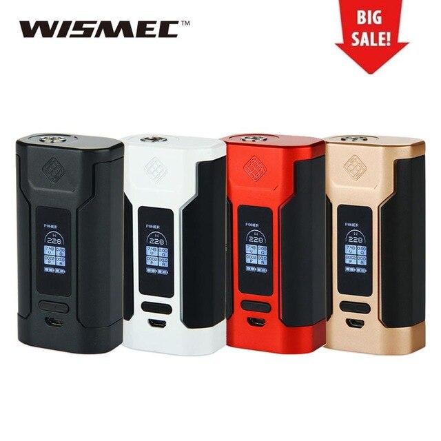 Оригинальный 228 Вт WISMEC Хищник Модель TC 228 электронная сигарета Vape мод огромная мощность для Elabo танк электронная сигарета vape мод