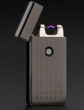 2015newโปรโมชั่นมีชีพจรArcโลหะสร้างสรรค์เบาชาร์จUSBไฟแช็บุหรี่จัดส่งฟรี